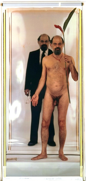 Allen Ginsberg -- Nude