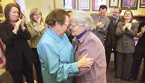 Phyllis Lyon and Del Martin - Lesbian Marriage