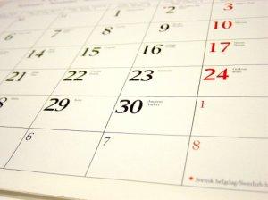 poetry calendar