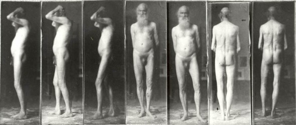 WALT WHITMAN POET NAKED NUDE