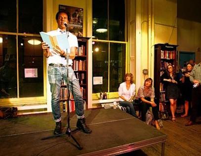 Colson Whitehead Amy King New York City literary pub crawl