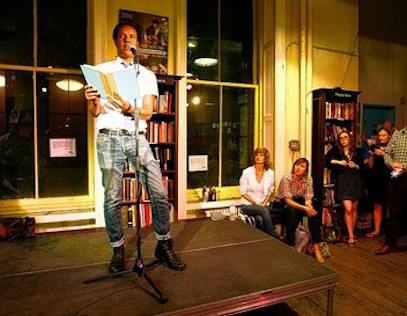 Colson Whitehead Amy King New York City literary pub crawl
